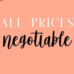 Other - all prices negotiable